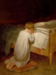 eastman_johnson_child_at_prayer_circa_18732